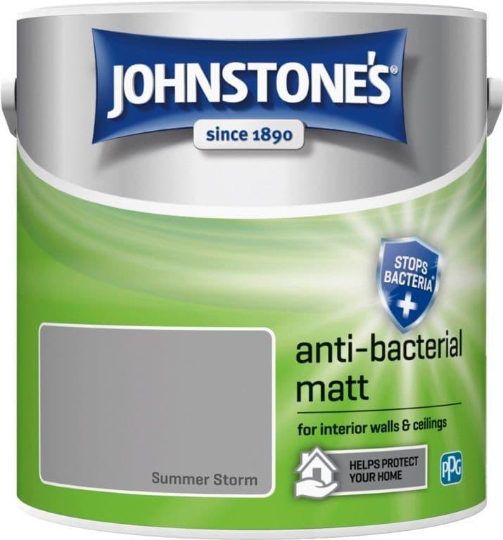 Johnstone's Anti Bacterial Matt 2.5L - Summer Storm